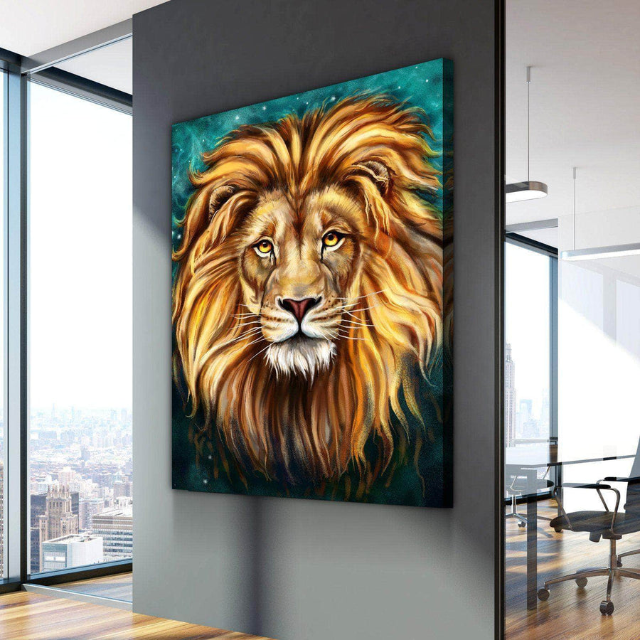 Lion Painting Canvas Set
