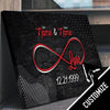 Custom Personalized Infinite Love Canvas Set