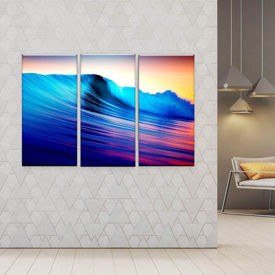 Lucid Waves Canvas Set