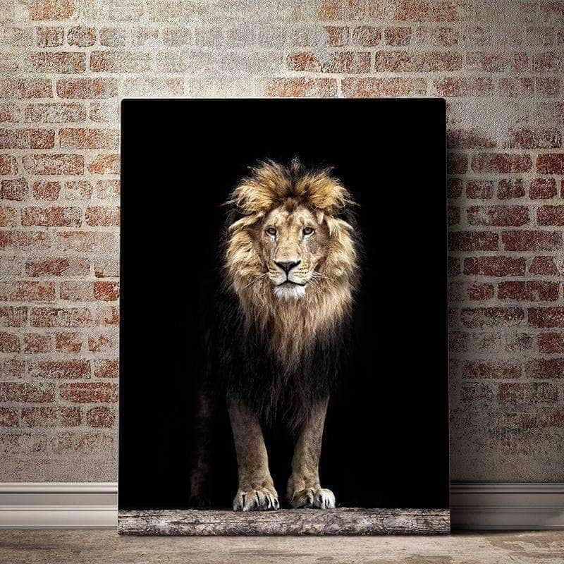 Majestic Lion Canvas Set