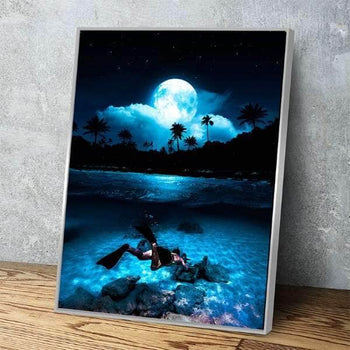 Moonlit Waters Canvas Set