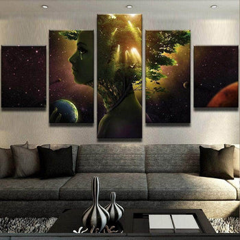 Mother of the Universe Canvas Set