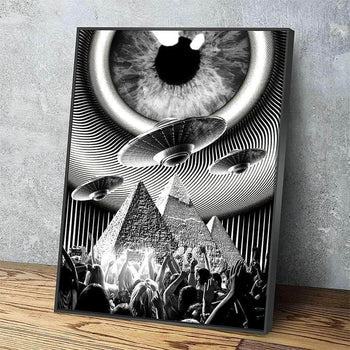 Novus Ordo Seclorum Canvas Set
