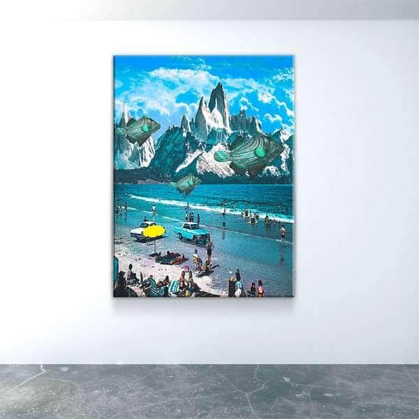 Ocean Breeze Canvas Set