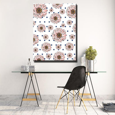 Sun Flowers Canvas Set