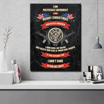 God Bless America Canvas Set