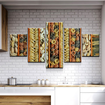 Oodles of Noodles Canvas Set