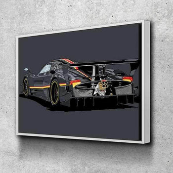 Pagani Zonda Revolucion Canvas Set