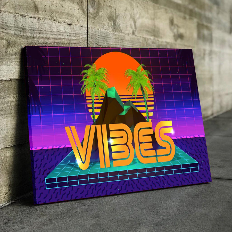Palm Tree Vibes Canvas Set