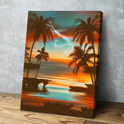 Quiet Storm Canvas Set