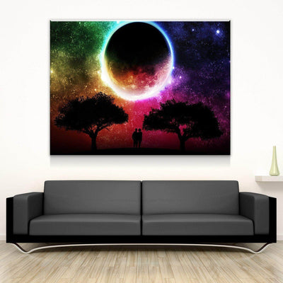 Romantic Eclipse Canvas Set