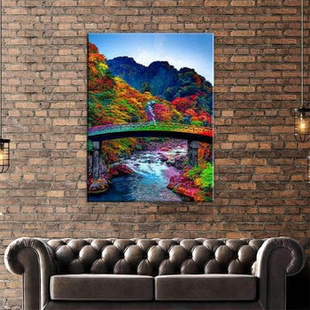 Rainbow Bridge Canvas Set