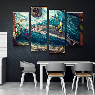 Reel In Canvas Set