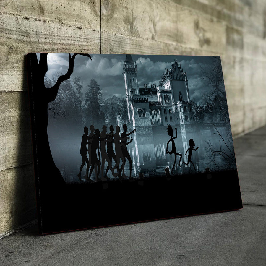 Zombie Chase Canvas Set