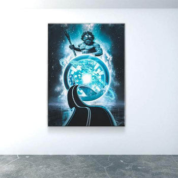 Rings of Poisedon Canvas Set