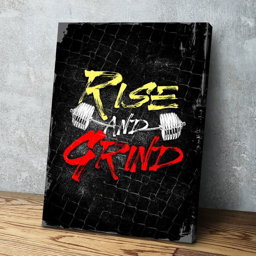 Rise and Grind Canvas Set