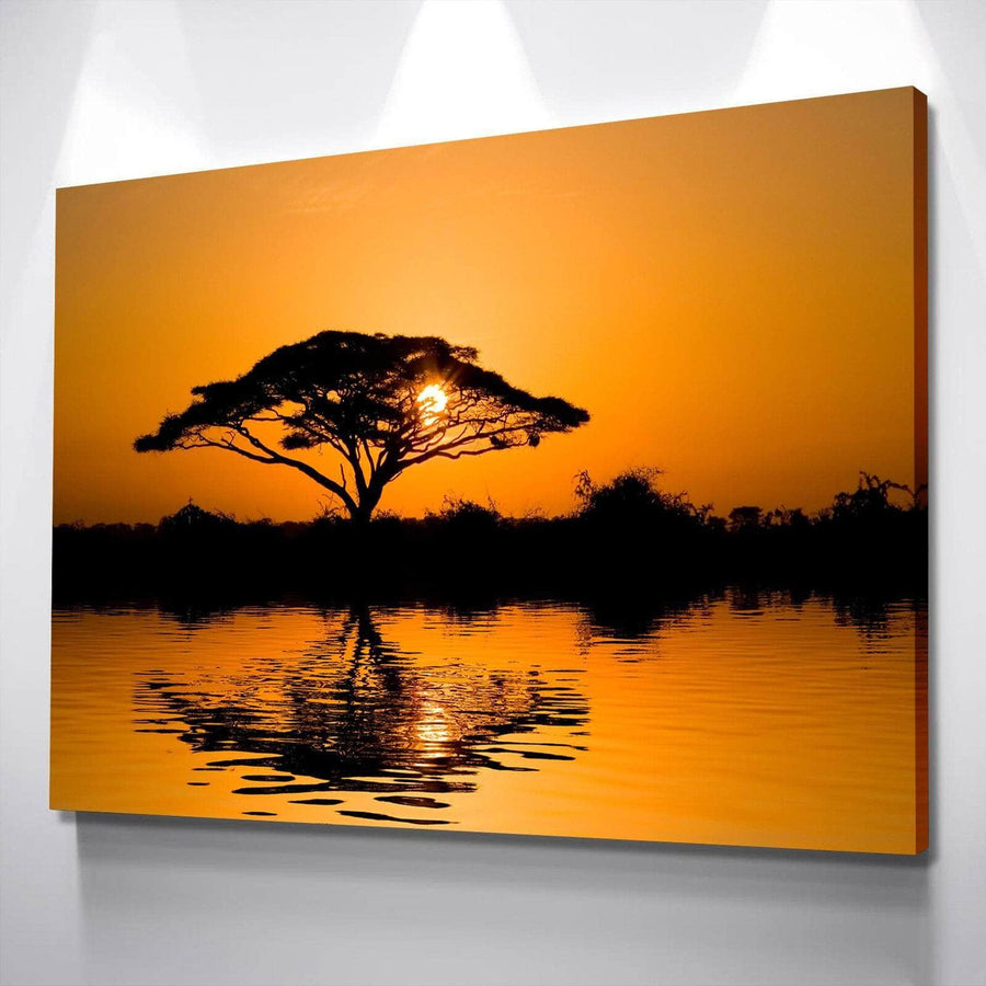 Serengeti Sunrise Canvas Set