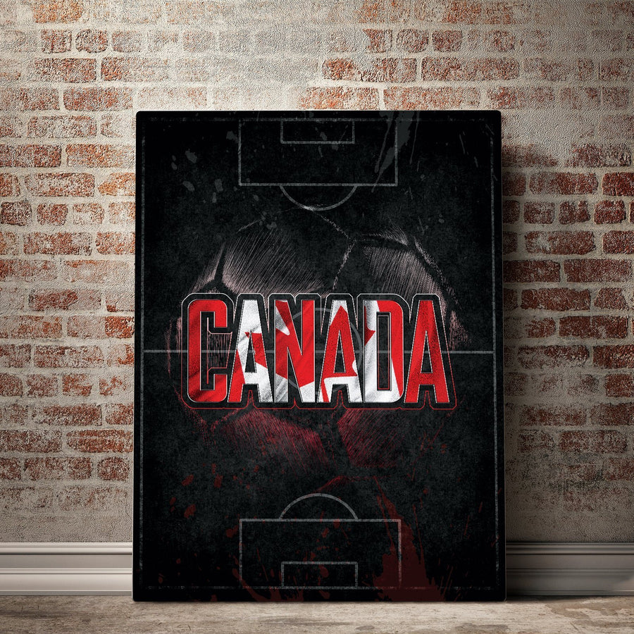 Canada Soccer Canvas Set