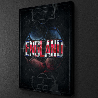 England Soccer Canvas Set