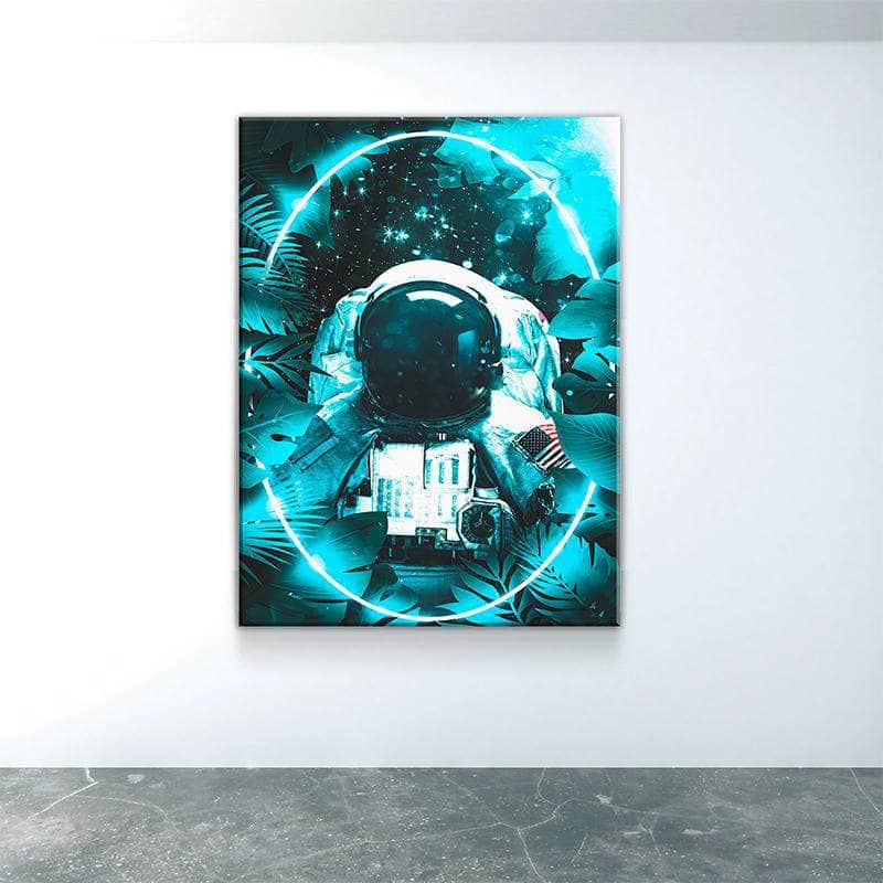 Space Jungle Canvas Set