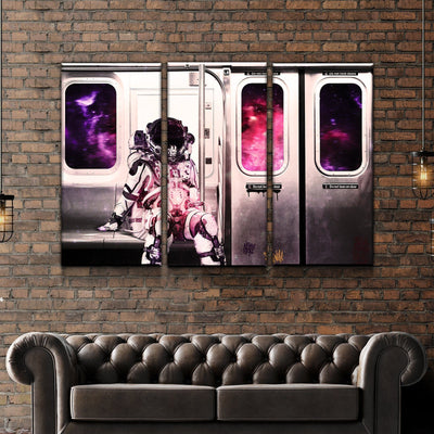 Space Station Canvas Set