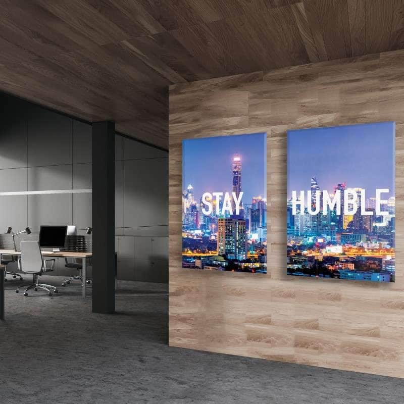 Stay Humble 2 Piece Bundle Canvas Set