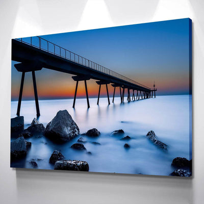 Sundown Walkway Canvas Set