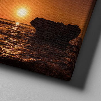 Sunset Rock Canvas Set