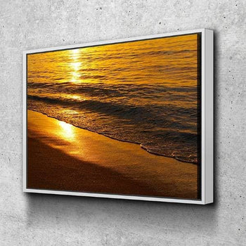 Sunset by the Waters Canvas Set