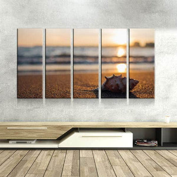 Sunset in the Distance Canvas Set