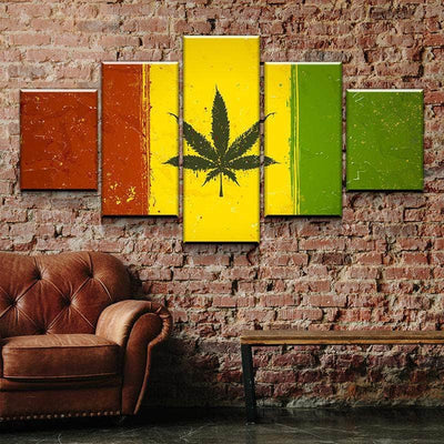THC Flag Canvas Set