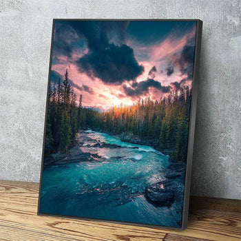 The River of Emeralds Canvas Set