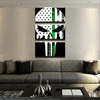 Thin Green Line Punisher Canvas Set