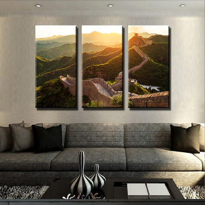 Great Wall of China Canvas Set