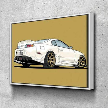 Toyota Supra Canvas Set
