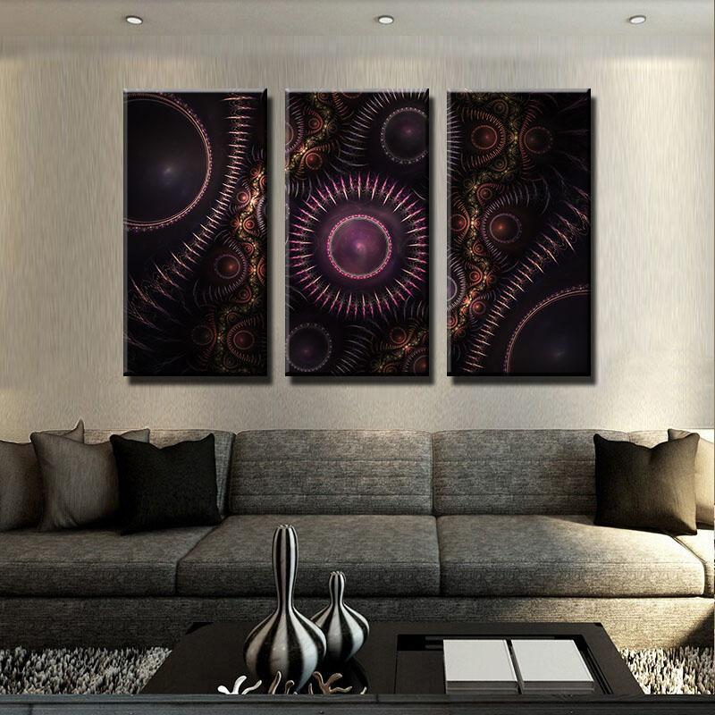 Trippy Gears Canvas Set