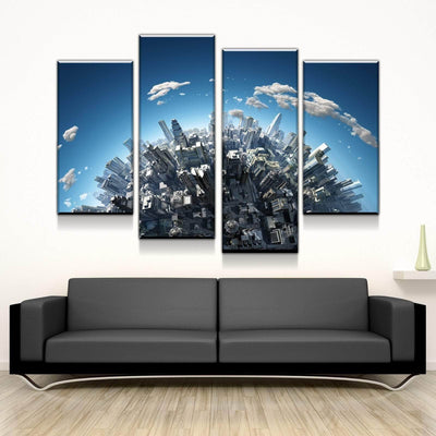 Urban Skyline Canvas Set