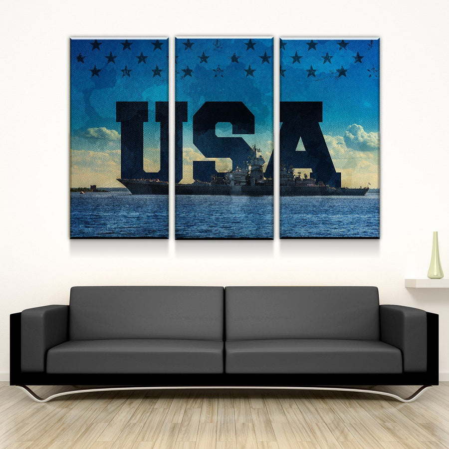 US Carrier Canvas Set