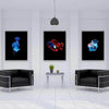Underwater Pop of Color 3 Piece Bundle Canvas Set