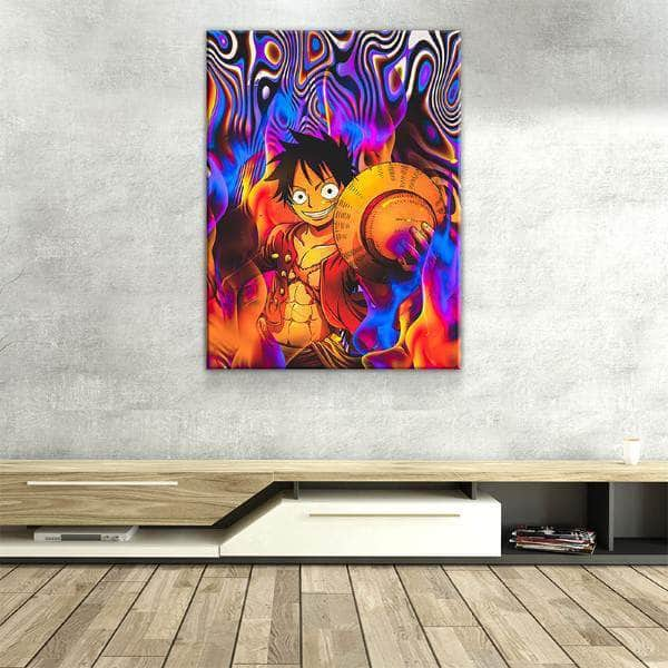 Up in Flames Canvas Set