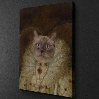 The Queen Custom Pet Canvas Set
