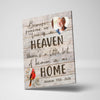 Heaven In My Home Custom Canvas Set