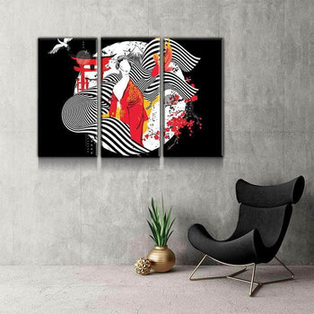 Visions of Japan Canvas Set