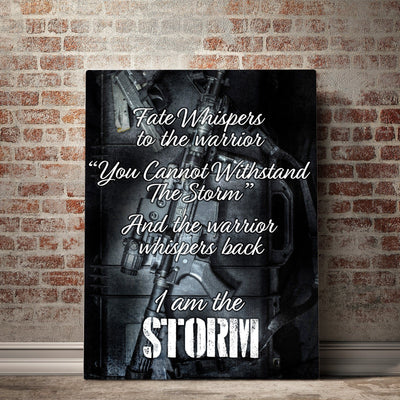 Warriors Whisper Canvas Set