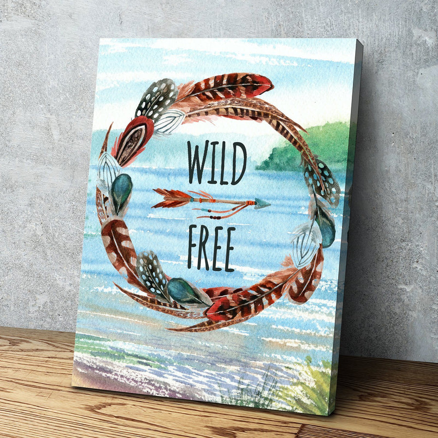 Wild & Free Canvas Set