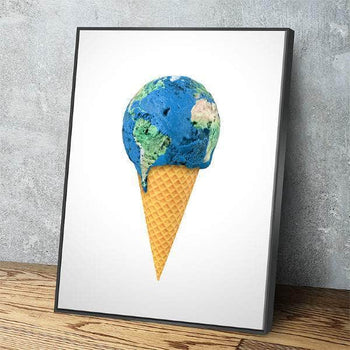 World Cone Canvas Set