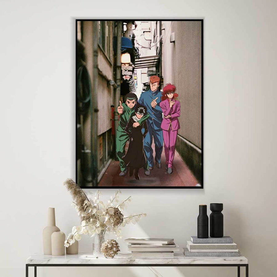 Yuyu Hakusho Canvas Set