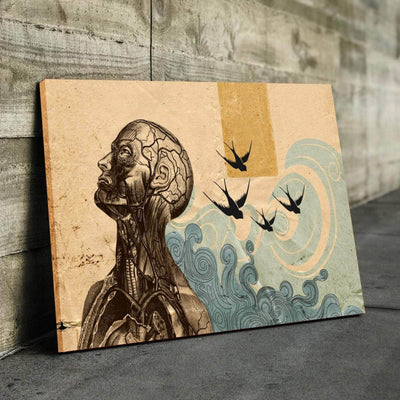 Abstract Thoughts Canvas Set