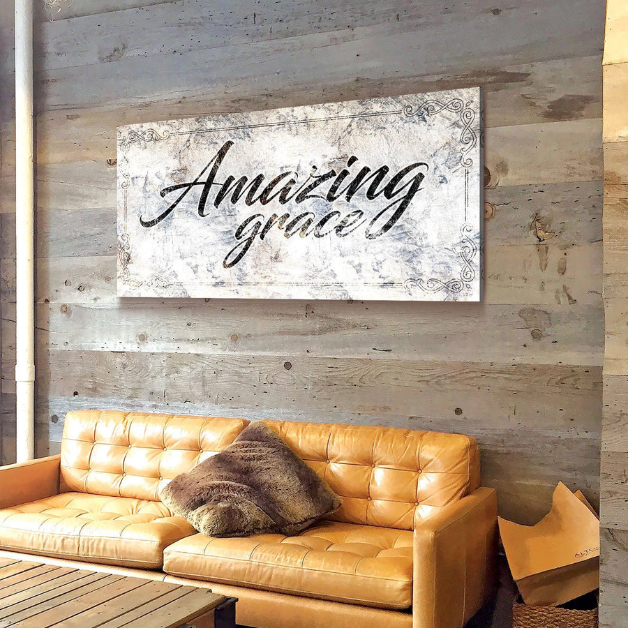 Amazing Grace Canvas Set