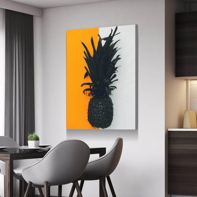 Artsy Pineapple Kitchen and Dining Room Wall Decor Canvas Set ...